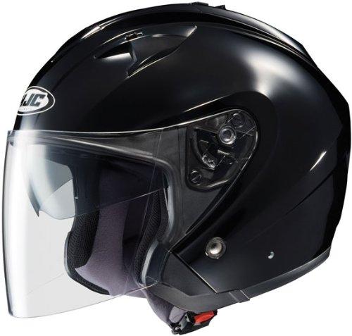 Buy Low Price HJC IS-33 BLACK SIZE:XSM MOTORCYCLE Open-Face-Helmet (0833-0105-03)