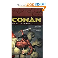 The Hall of the Dead and Other Stories (Conan, Vol. 4) by Kurt Busiek, Mike Mignola, Tim Truman and Cary Nord