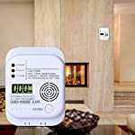 Battery Operated 7 Years Sensor Life Carbon Monoxide Detector CO Alarm With LCD Displays CO Density and Temperature from Ningbo Kingdun Electronic Industry Co Ltd