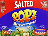 Popz Microwave Popcorn Salted 100 g (Pack of 2)