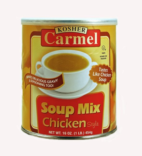 CARMEL Chicken Flavor Soup Mix , 1 lb. Canisters (Pack of 4) (Chicken Flavor Soup compare prices)