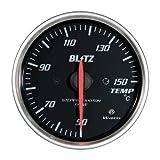 BLITZ(ブリッツ) RACING METER SD(レーシングメーターSD) 丸型アナログメーター φ60 TEMP METER 19563