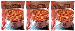 Trader Joe's Spicy Seaweed Ramen, 7.19 oz -3 pack