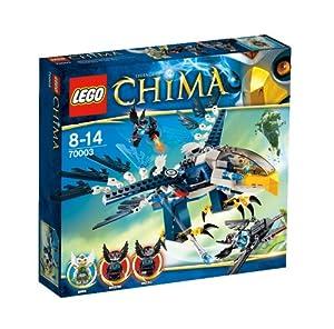 Lego Legends Of Chima - Playthèmes - 70003 - Jeu de Construction - L'intercepteur Aigle d'eris