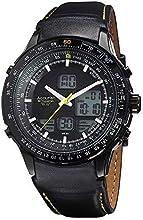 Comprar Skymaster Accurist para hombre analógico/digital reloj infantil con mecanismo de correa de cuero negro MS930BY