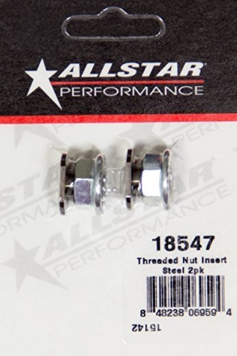 allstar-performance-all18547-threaded-nut-insert-steel-2pk-by-allstar