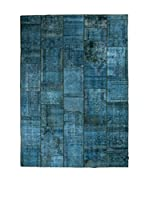 CarpeTrade Alfombra Vintage Persian Collage (Azul)