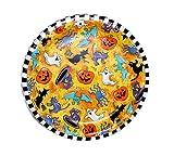 "Halloween ""Creepy Characters"" Paper Plates (8 3/4"") - 8 cnt"