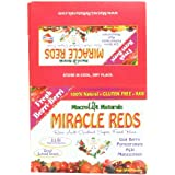 Miracle Reds, Super Food Bars, Fresh Berri-Berri, 1.5 Ounce (Pack Of 12)
