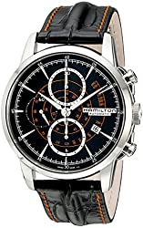 Hamilton Men's H40656731 Timeless Class Analog Display Automatic Self Wind Black Watch