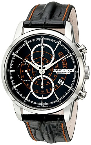 Hamilton-Mens-H40656731-Timeless-Class-Analog-Display-Automatic-Self-Wind-Black-Watch