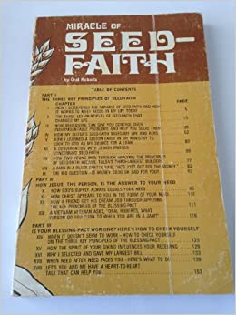 Sympathise with Oral roberts seed faith