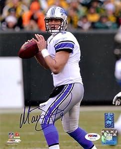 Matt Stafford Autographed Detroit Lions 8x10 Photo #2 PSA DNA
