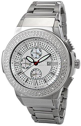 JBW Reloj Saxon Plateado Única