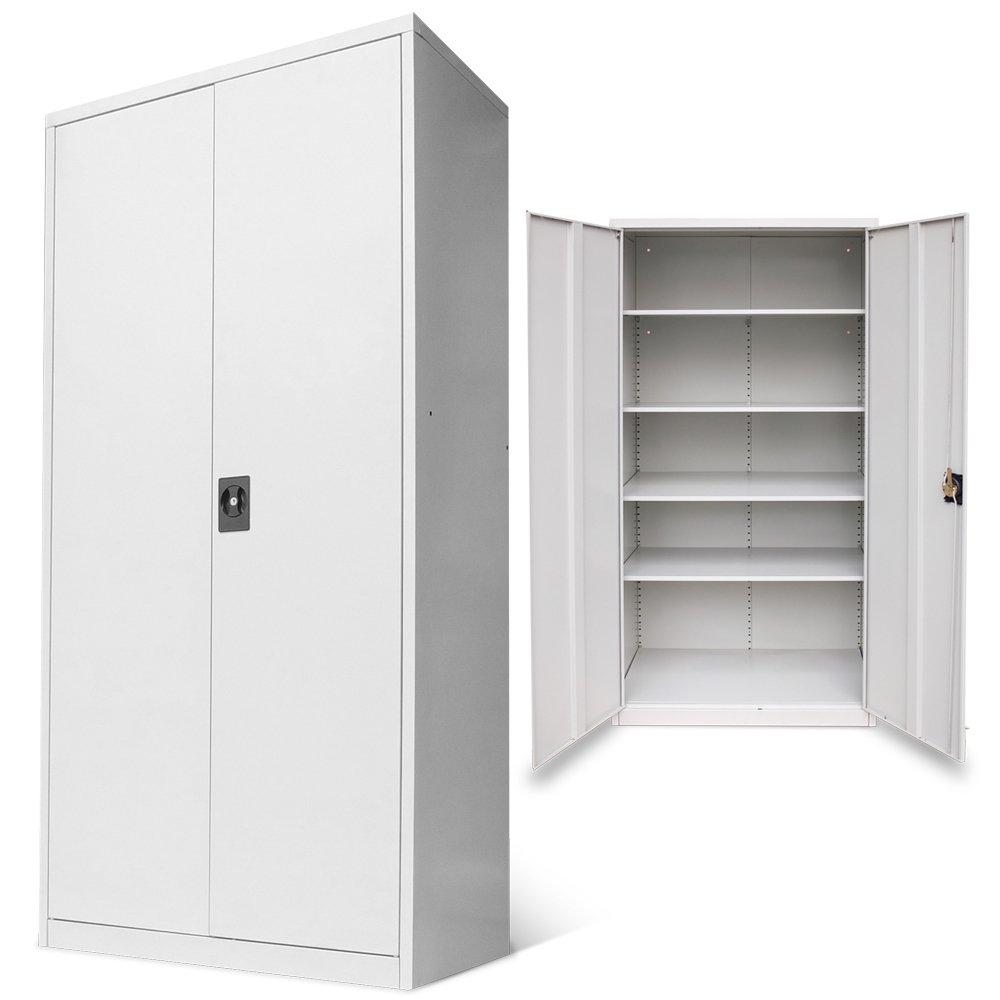 Aktenschrank Büroschrank Werkzeugschrank Metallschrank 180x90x50   Überprüfung und weitere Informationen