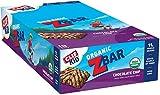 CLIF KID ZBAR - Organic Energy Bar - Chocolate Chip - Baked Whole Grain Energy Snack Bar (1.27 Ounce Snack Bar, 18 Count)