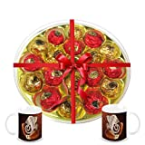 Chocholik's Amazing And Perfect Combination Of Chocolate Truffles With Diwali Special Coffee Mugs - Diwali Gifts