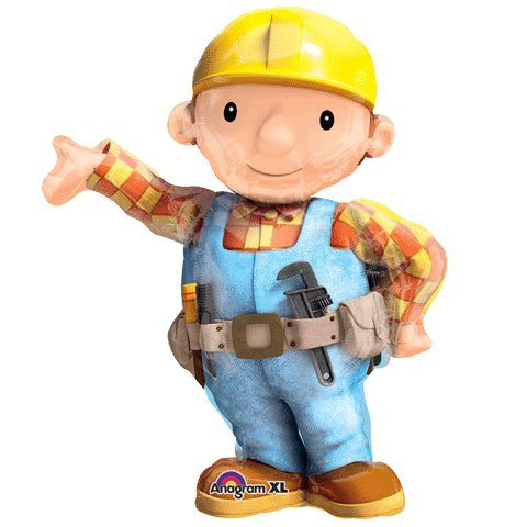Anagram International 2740301 Bob The Builder Shape Pack, 28""
