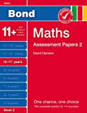 David Clemson New Bond Assessment Papers Maths 10-11+ Years Book 2