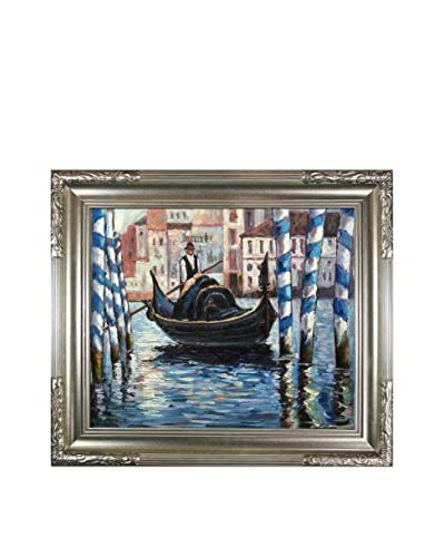 "Edouard Manet ""The Grand Canal, Venice II"" Reproduction Oil Painting"