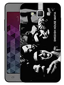 """Humor Gang Swedish House Mafia Monochrome Printed Designer Mobile Back Cover For """"Samsung Galaxy A7"""" (3D, Matte, Premium Quality Snap On Case)"""
