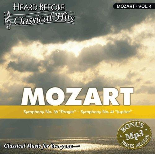 "Mozart [Vol. 4]: Sympony No. 38 """"Prager"""" & Symphony No. 41 """"Jupiter"