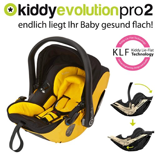 preisvergleich und test kiddy babyschale evolution pro 2. Black Bedroom Furniture Sets. Home Design Ideas