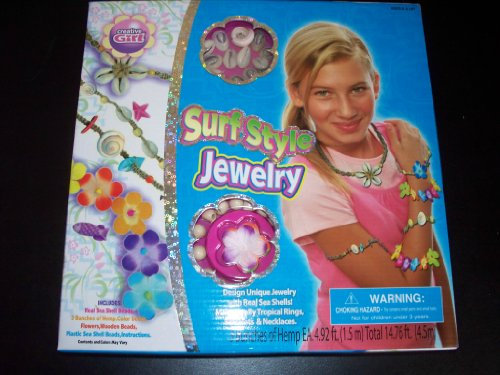 Creative Girl Surf Style Jewelry Design Kit