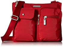 Baggallini Everything Travel Crossbody Bag, Apple, One Size