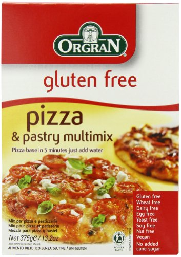 Orgran Pizza and Pastry Multi Mix 375 g (Pack of 8)