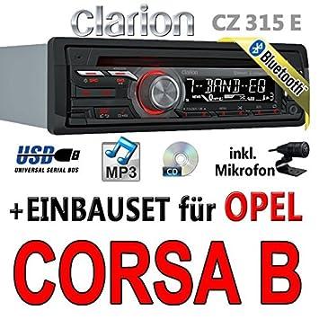 Opel corsa b-clarion cZ315E-autoradio bluetooth avec