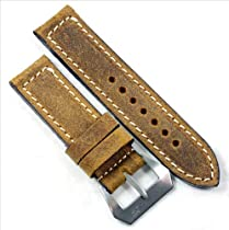 Mario Paci 4 Submercitore Tan with MP Pre-V Buckle 24/24 125/80
