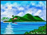 """"""" Vieques """" Pr Mouse Pad, Mousepad (10.2 X8.3 X 0.12 inches)-1595884"""