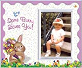 Somebunny Loves You! (scalloped) - Easter Picture Frame Gift
