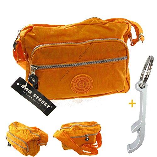 # 7136Crinkle Shoulder Bag 17X24X8CM Bag Street Casual Nylon Bag