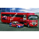 #3830 Italeri Citroen Wrc 2004 Racing Team Truck & Trailer With Car 1/24 Scale Plastic Model Kit,Needs Assembly