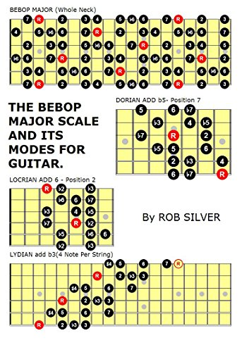 Symmetrical and Other Scales for Eight String Guitar (Basic Scale Guides for Eight String Guitar Book 4)