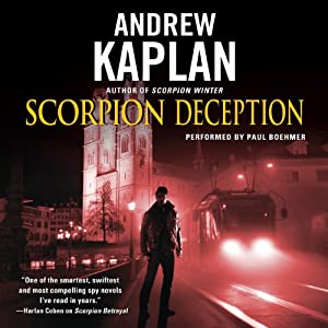 Scorpion Deception Hörbuch