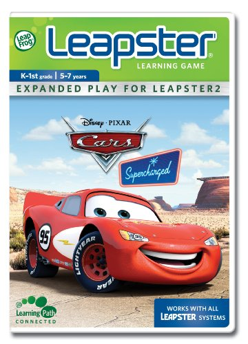 LeapFrog Leapster Learning Game Cars Supercharged - 1