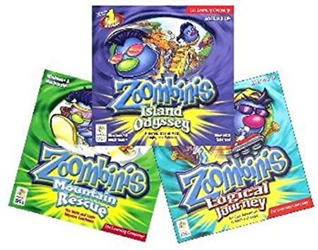 Zoombinis 3 Pack - Island Odyssey, Logical Journey, Mountain Rescue