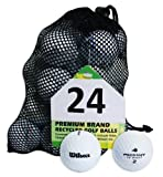 Second Chance Wilson Pro Staff 24 Quality Lake Golf Balls (Grade A)