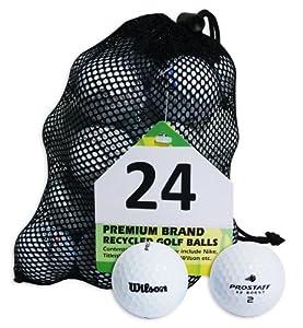 Second Chance Wilson Pro Staff 100 Quality Lake Golf Balls (Grade A)