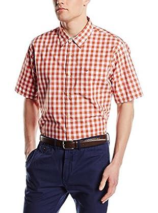 Dockers Camisa Hombre Laundered Poplin (Naranja)