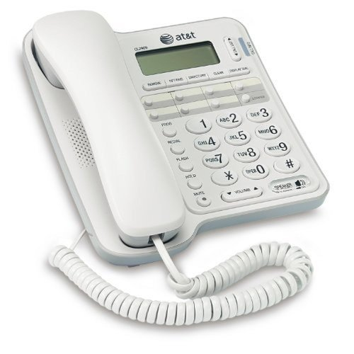 AT&T CL2909WH 1 Handset High Quality Corded Phone