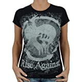 Merchandise - Rise Against - Intense Band Girlie Shirt, schwarz, Größe:L von Rise Against