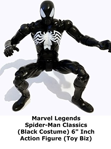 Review: Marvel Legends Spider-Man Classics (Black Costume) 6