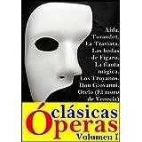 Colección óperas clásicas, Volumen I (La Traviata, La flauta mágica, Aída, Los Troyanos, Don Giovanni, Las bodas...