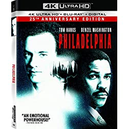 Philadelphia [4K Ultra HD + Blu-ray]