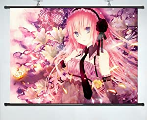 """VOCALOID LUKA Anime Fabric Wall Scroll Poster (16""""x24"""") Inches Costum-made Cosplay 30"""