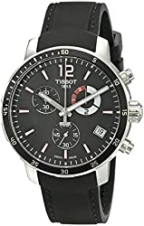 Tissot Men's T0954491705700 Quickster Analog Display Swiss Quartz Black Watch